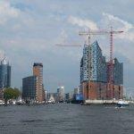 Hamburger Hafen und Elbphilharmonie, 2013