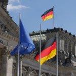 Vor dem Bundestag, Berlin 2016