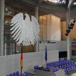 Im Plenarsaal im Bundestag, Berlin 2016