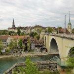 Blick auf die Berner Altstadt, 2017