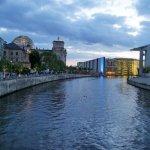 Spreeblick zum Bundestag, Berlin 2017